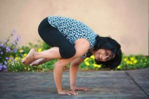 Crow Pose at Wellness Haven Energetic Yoga