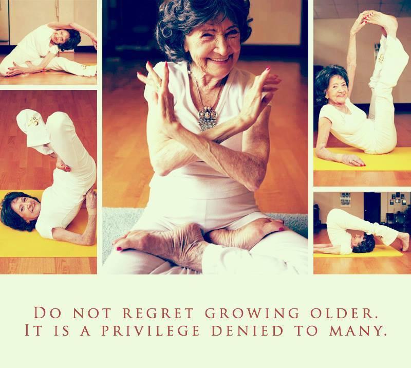 94 year old Yogi