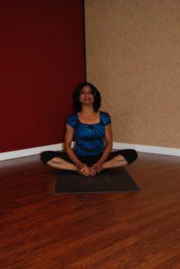 Baddha Konasana or Bound Angle Pose or Butterfly Pose