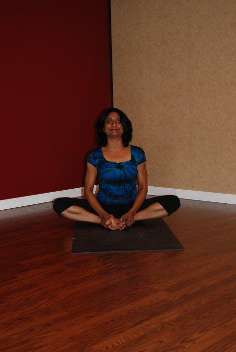 Baddha Konasana or Bound Angle Pose - Wellness Haven Yoga