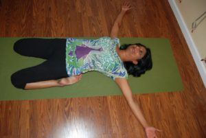 Supt Virasana or Reclining Hero Pose